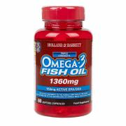 Holland & Barrett Omega 3 Triple Strength Fish Oil 60 Capsules 1360mg