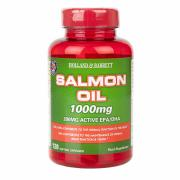 Holland & Barrett Salmon Oil 120 Capsules 1000mg