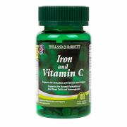 Holland & Barrett Iron & Vitamin C 100 Tablets
