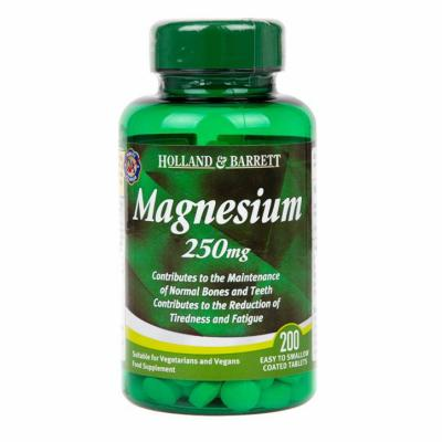 Holland & Barrett Magnesium 200 Tablets 250mg