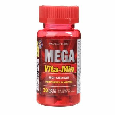 Holland & Barrett High Strength Mega VitaMin 30 Caplets